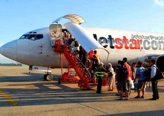 Vé máy bay Sài Gòn Chu Lai Jetstar Pacific mở bán vé máy bay từ 250.000 đồng