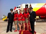 Vietjet Air có đội bay ngày càng hiện đại Vé máy bay giá rẻ 2015  hãng Vietjet Air chỉ 99k