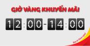 """12 giờ rồi, Vietjet thôi! 3 triệu vé khuyến mãi từ 0 đồng cùng chương trình """"12 giờ rồi, Vietjet thôi!"""""""